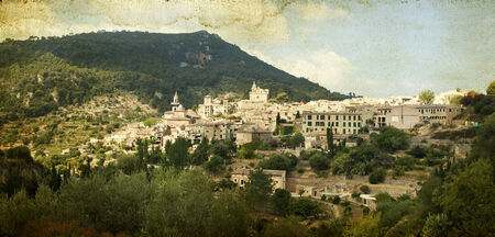 chopin:  Valldemossa village, Mallorca, Balearic island Stock Photo