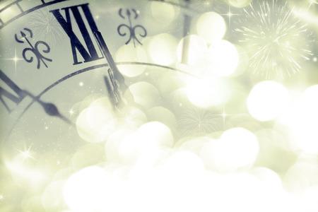 New Year at midnight