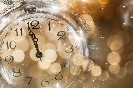 past midnight: New Year at midnight