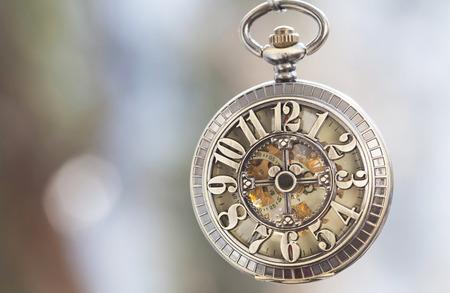 Old pocket watch Archivio Fotografico