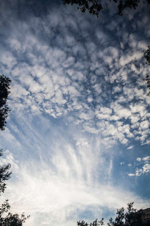 dramatic clouds: Photo of blue sky with clouds