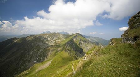 fagaras: Landscape of Fagaras mountains in Carpathians, Transylvania, Romania