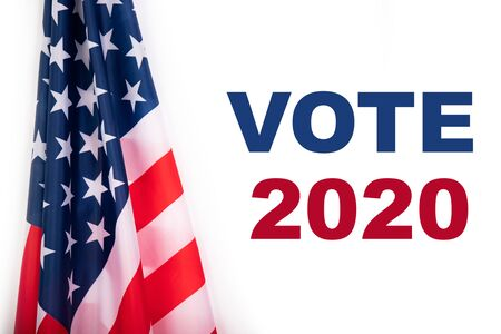 United States elections 2020 concept. Voting for general election in United States.