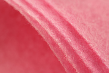 pink non-woven fabric. disposable cleaning cloth. 免版税图像