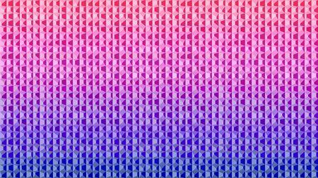 Irregular prisms pink purple blue gradient three dimensional effect using color intensity