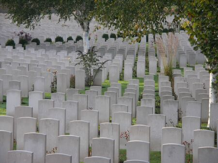 ypres: cemetery Stock Photo