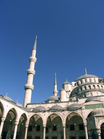 Blue mosque 9 Stock Photo