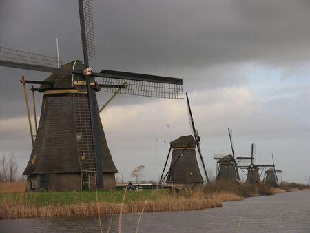 Dutch windmills in Kinderdijk 1 photo