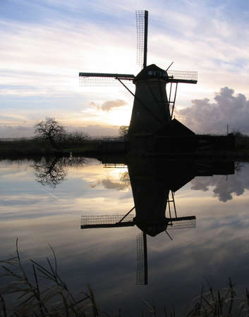 Dutch windmill 5 photo