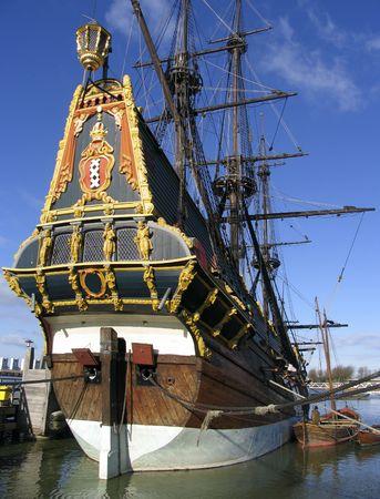 Dutch tall ship