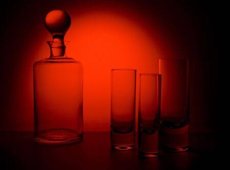 1 glas Stockfoto