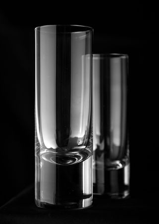 chrystals: glass 3 Stock Photo