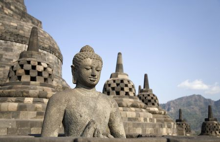 indonesia people: Borobudur 4