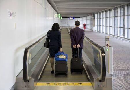 Airport terminal 5 Stock Photo