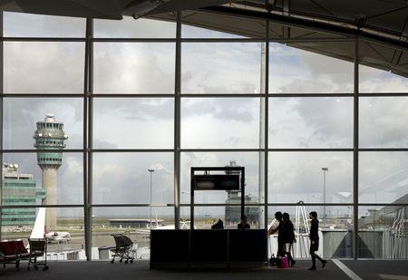 Airport terminal 7 Stock Photo