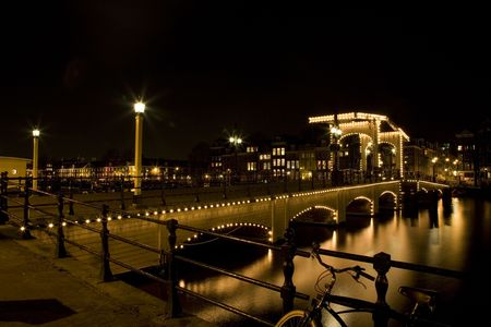 Amsterdam night 1 Stock Photo - 819828