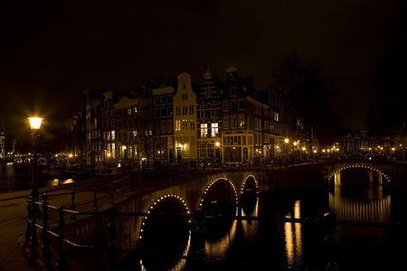 Amsterdam night 3 Stock Photo - 819830
