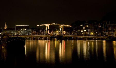 Amsterdam night 4 Stock Photo - 819831