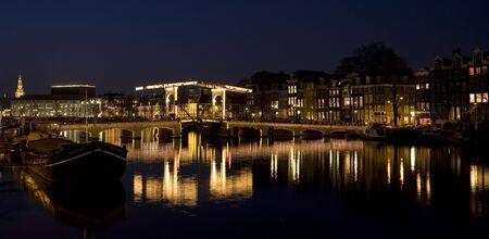 dutch canal house: Amsterdam night 11