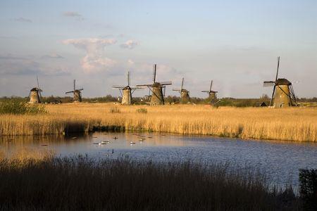airstream: Dutch windmills in Kinderdijk 12