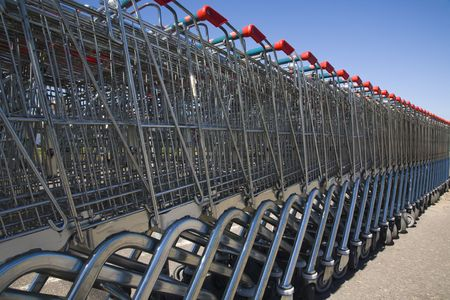 Shopping carts 2 Stock Photo - 903187