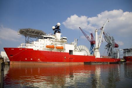 subsea: Construction vessel 2