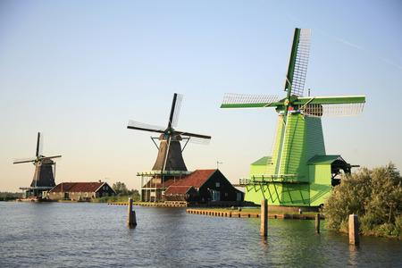 airstream: Zaanse Schans 2 Stock Photo