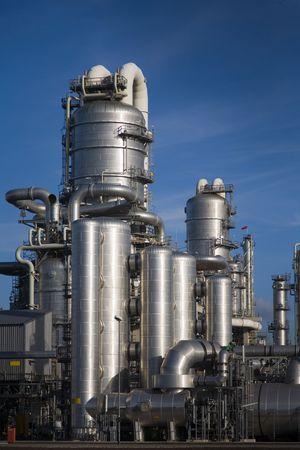 17: 17 de refiner�a  Foto de archivo