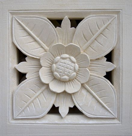 Bali stone carving photo
