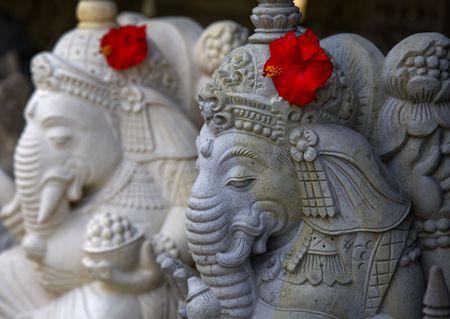Bali sculpture Stock Photo