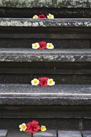 Bali stairs Stock Photo - 3549601