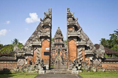 Bali temple entrance
