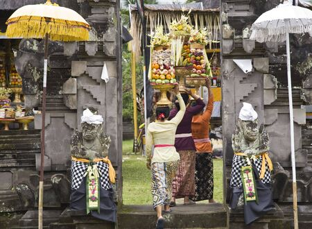balinese: Temple ritual