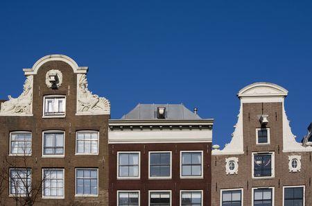 dutch canal house: Amsterdam houses