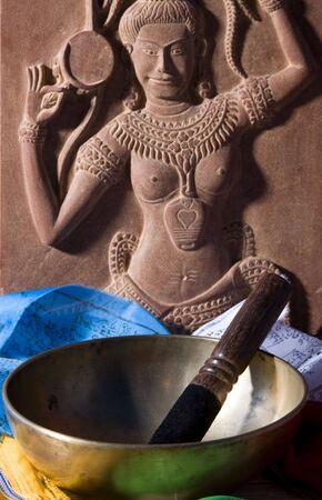 sound healing: Singing bowl