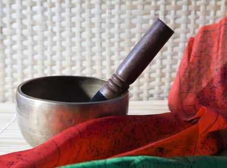 Singing bowl photo