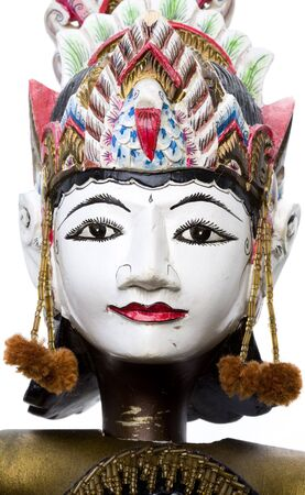 Wayang Golek puppets photo