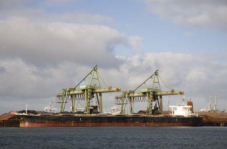bulk carrier: Bulk carrier Stock Photo