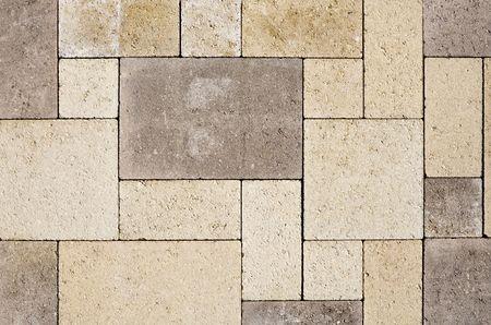 floor level: Cobble stones