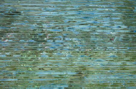 split level: Glass background