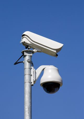 electronic security: Security camera
