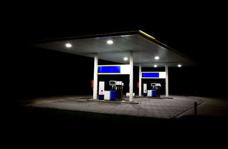 station service: Station de nuit