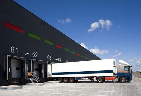 Laden von docks Standard-Bild - 5063601