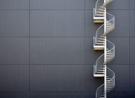 Emergency stairs photo