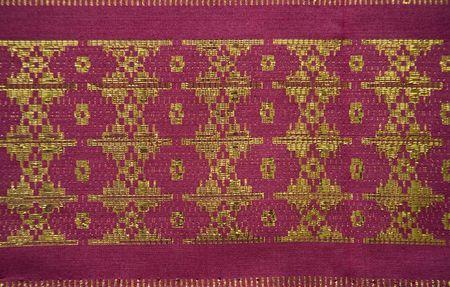 Songket Palembang Stock Photo