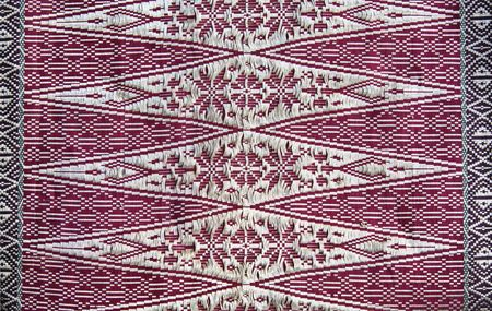 Songket Palembang Stock Photo