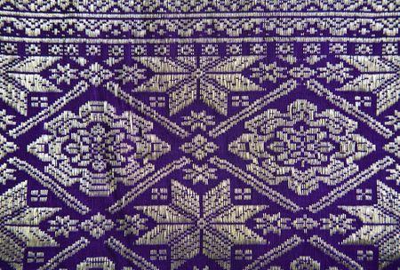 Songket Palembang  Standard-Bild - 5305960