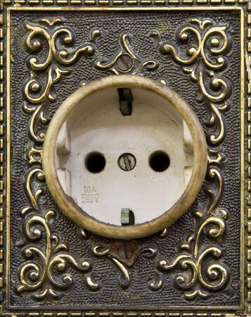 wall socket: Indonesian wall socket