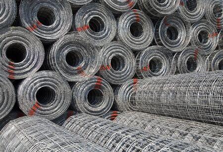 Steel mesh  photo