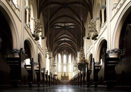 Kathedrale von Jakarta Standard-Bild - 5391619